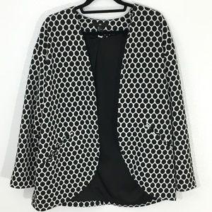 H&M Polka Dot Professional Jacket/Blazer